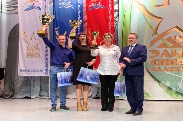 В Салехарде наградили лучших спортсменов и тренеров