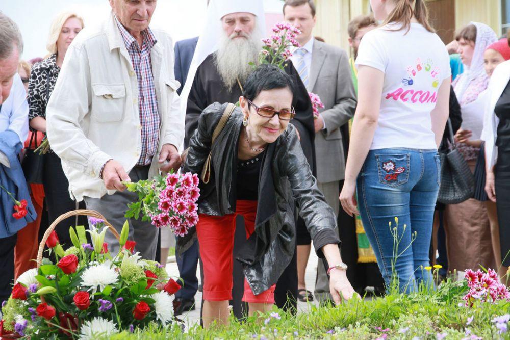 Тамара Золотухина на Алтае