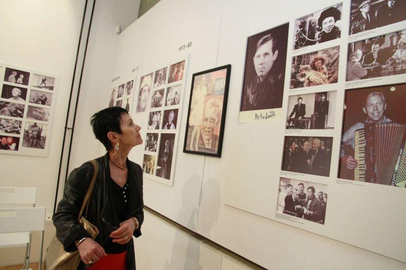 Тамара Золотухина в музее Валерия Золотухина