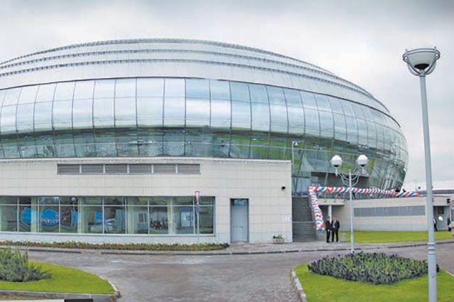 Дворец спорта «Динамо» рассчитан на 5 тысяч зрителей.