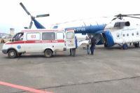 В Оренбуржье санавиация помогла спасти жизнь 3-летнего ребенка