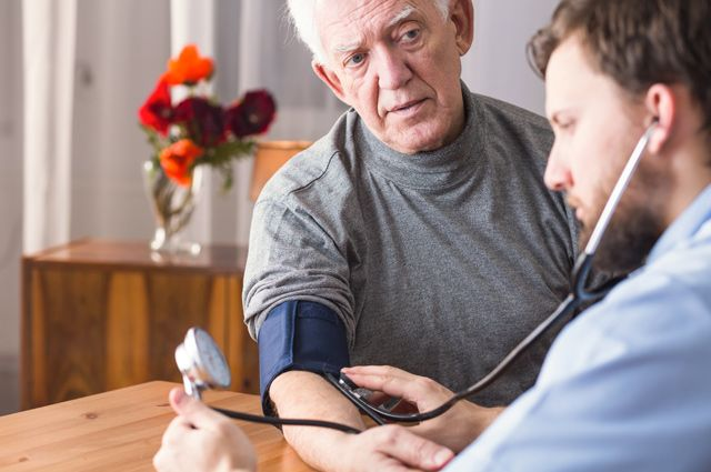 Сильная потливость после инфаркта - Лечение гипертонии