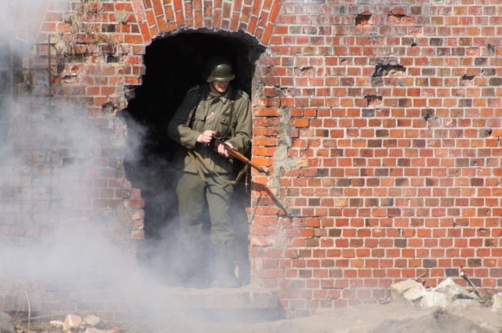 Гарнизон форта №5 насчитывал более 300 человек.