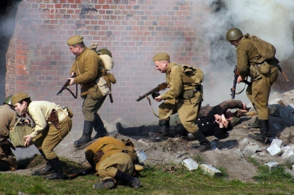 8 апреля 1945 года форт был взят в ходе многочасового боя.