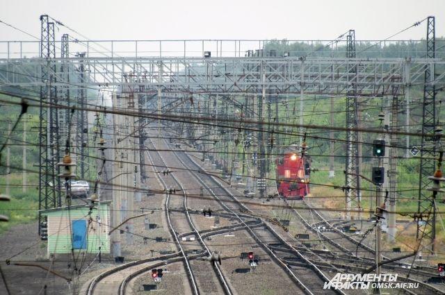 В Омской области временно не будут работать две электрички