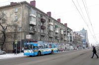 Терминалы установлены во всех троллейбусах маршрута с первого апреля.