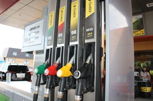 Бензин марок АИ-95 и АИ-92 на