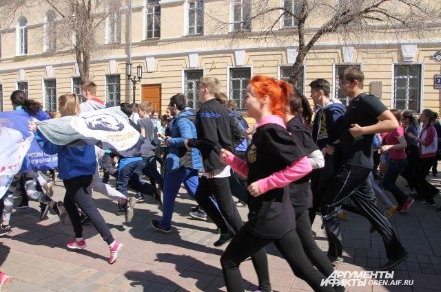 В Оренбурге в День космонавтики пройдут возложения цветов, забег и концерт