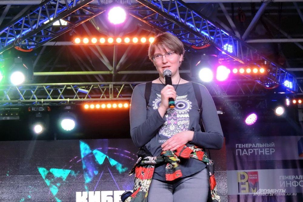 Белорусская писательница Ольга Громыко.