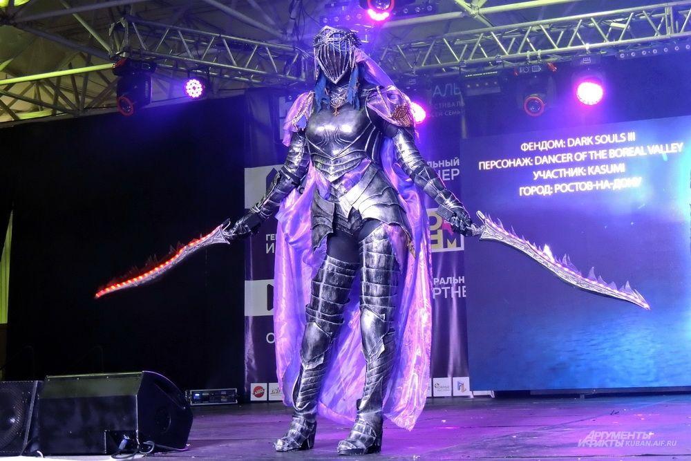Персонаж компьютерной игры «Dark Souls III».