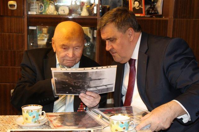 Алексей Силанов лично поздравил участников штурма Кёнигсберга