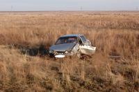 На трассе Соль-Илецк-Буранное в ДТП погиб предполагаемый угонщик «ВАЗа»