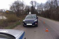 В Полесске автомобиль сбил ребёнка, перебегавшего дорогу