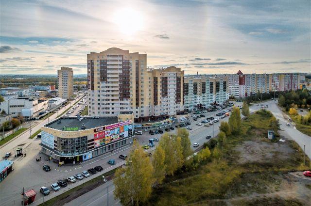 Один из крупнейших пермских застройщиков строит дом в Ижевске