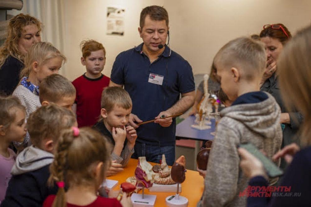 Экскурсоводы с радостью обо всем расскажут и поделятся с гостями любопытными фактами о нашем организме.
