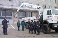 В Калининградскую область прибыли сапёры Невского спасательного центра