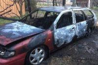 В Киевской области сожгли машину депутата