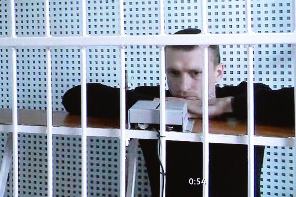 Павел Мамаев. Рассмотрение апелляционной жалобы по делу футболистов в Московском городском суде, октябрь 2018.