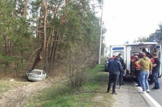 Под Киевом сотрудник посольства Венгрии устроил ДТП: есть пострадавшие