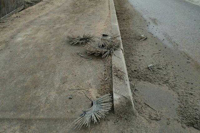 Жители города Кимры жалуются на уборку дорог и тротуаров