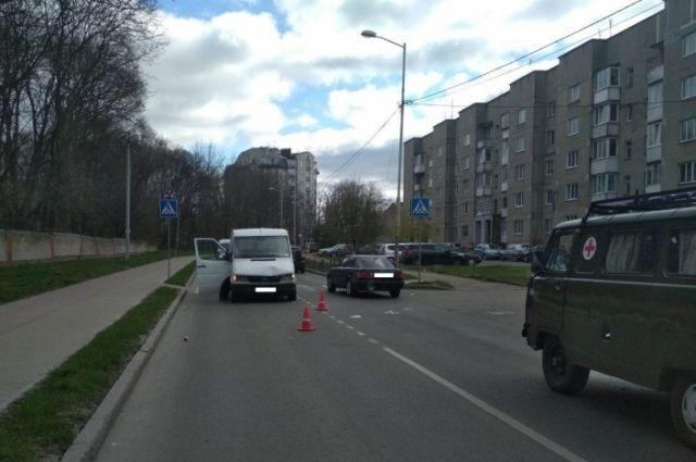 На ул. Островского в Калининграде сбили 79-летннего пешехода
