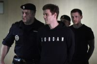 Александр Кокорин и Павел Мамаев в суде.