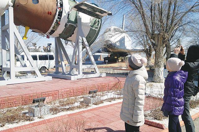 Для музея у нас много уникальных экспонатов с космодромов.
