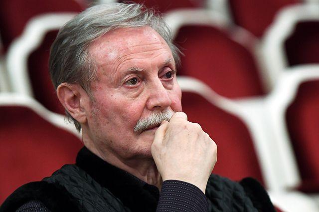 Руководитель Государственного академического Малого театра Юрий Соломин.