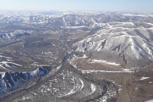 На востоке Оренбуржья проведена авиаразведка паводковой обстановки
