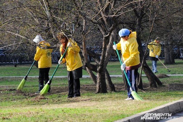 Столица Коми присоединилась к Всероссийскому экологическому субботнику «Зелёная Весна – 2019».