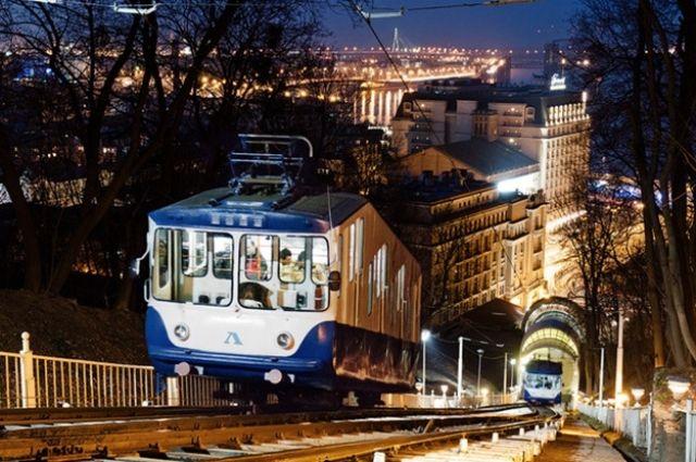 Власти Киева намерены провести реконструкцию фуникулера