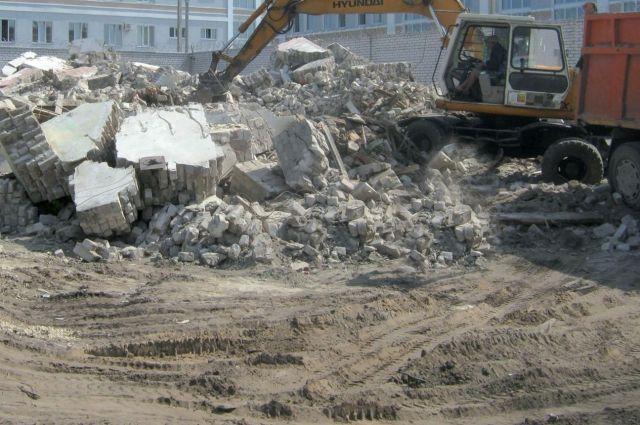 Работы проходили за ДК «Промышленновский».