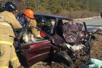 На трассе «Сарапул - Каракулино» в аварии погибли два человека