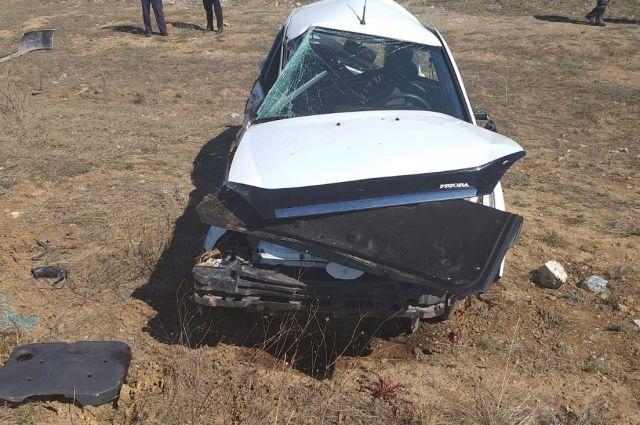 В Адамовском районе в ДТП погиб 30-летний водитель «Лады»