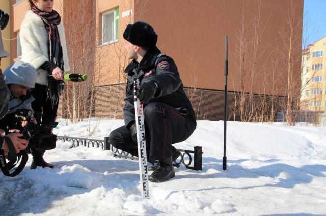 В Салехарде проверили качество очистки дорог от снега и льда