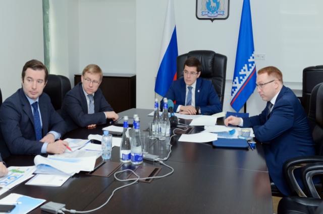 Глава Ямала обсудил с «Газпром нефтью» разработку ачимовских залежей