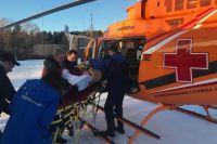 Вертолёт какой марки будут лечить над регионом, пока неизвестно.