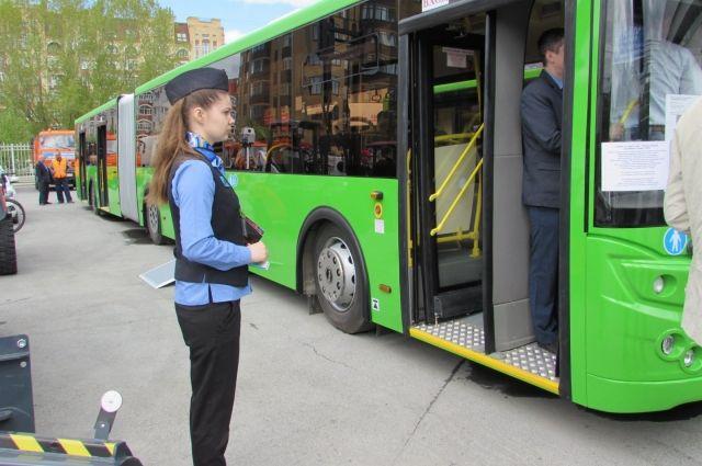 42 новых автобуса будут ездить по Тюмени