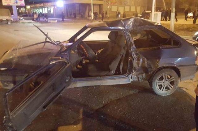 В Новотроицке в ДТП пострадал 2-месячный малыш
