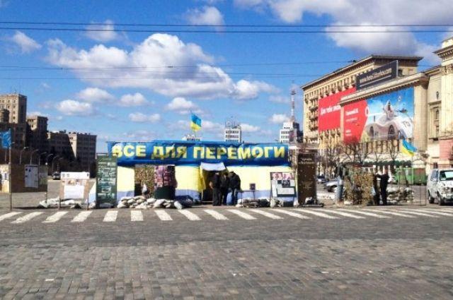 В Харькове волонтер решил попить чай и взорвал палатку