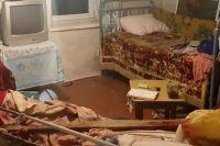 Дом погибшей пенсионерки в селе селе Сорочень Житомирской области