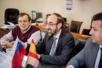 Встречу с испанской делегацией провела замгубернатора Ольга Турбаба.