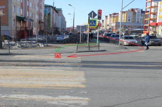 В Салехарде водитель автобуса сбил подростка