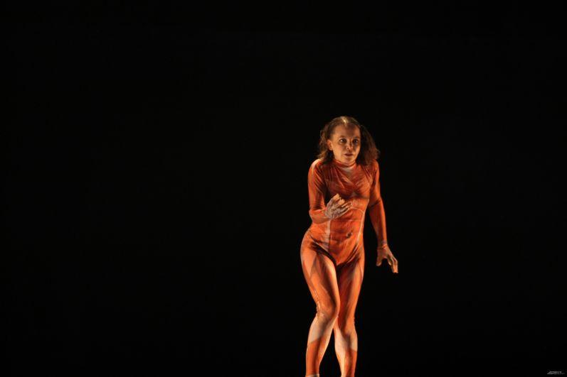 Наталья Паламожных сыграла на сцене одно из воплощений Мефистофеля.