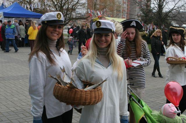 В ближайшие выходные в Калининграде будут чествовать селёдку