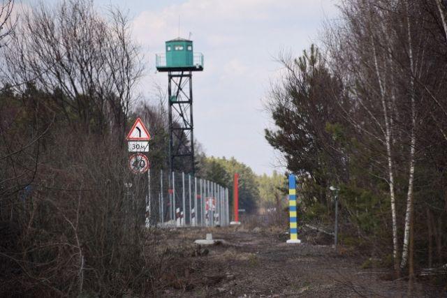 Украина и Беларусь совместно проводят демаркацию в зоне Чернобыльской АЭС