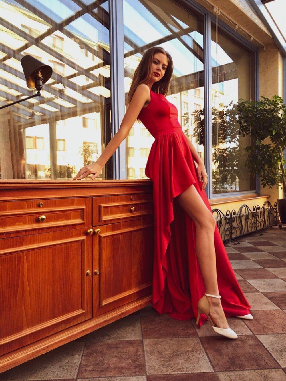 На конкурсе «Мисс Россия».