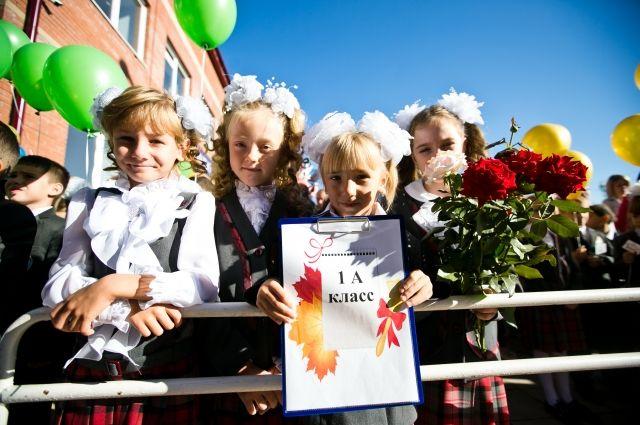 В этом году первый раз в школу пойдут более 7500 ребят.