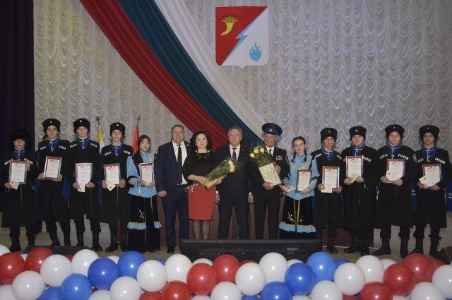 Изобильненское отделение казачат военно-патриотического клуба «Беркут» в командном зачёте XVI Всероссийского кадетского сбора России заняло первое место!