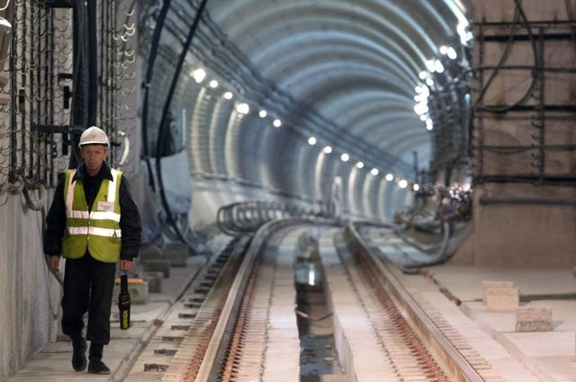 Обновленный состав вышел на линию новосибирского метрополитена